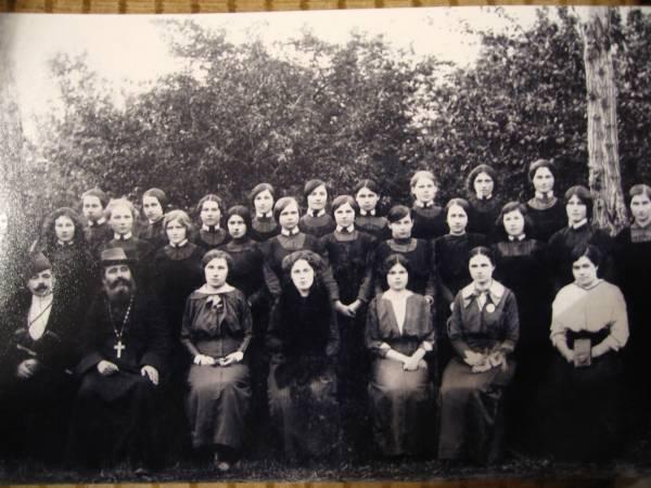 Усть-Лабинское женское училище ок. 1913 г.